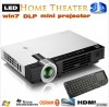 3D Projection Technology  LED  Mini  Projector  wi Manufacturer