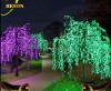 RS-Tl47 H:3M Green LED Lighted Willow Tree