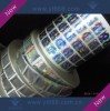 High Complicated Hologram Sticker In Roll Manufacturer