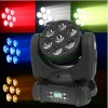 7*12W LED Mini Moving Head Beam Effect Rotating Light