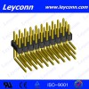 Pitch 2.54mm Single Layer Triplex Row Right Angle  Manufacturer