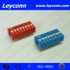 Pitch 2.54mm Slide Type  Dip Switch  Manufacturer