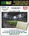 STADIUM FLOOD LIGHT LED, 100W TO 1100W, DLC, EVERM Manufacturer