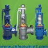 Spring Loaded Safety Valve with Stainless Steel,Cast,Wcb,Copper Material