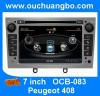 Ouchuangbo Audio DVD Stereo Radio Peugeot 408 S100 Manufacturer