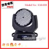 Professional Stage Light 108 3W LED Moving Head Lights / Rgbw LED Wash Moving Head DMX 512 Light Lm-018