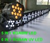 12X15W Rgbaw DMX Par64 Light,5 In 1  LED Par  Cans Manufacturer