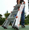 3 In 1 Telescopic Ladder Manufacturer