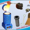 Mini 1-3kg Blue Gold Melting Furnace For Sale Jewe Manufacturer