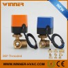AC220V 3Way DN25 Motorized Electric Control Ball Valve