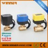 High Temperature DC12V 2 Way DN20 Motorized Actuat Manufacturer