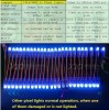9883IC 50pcs/String Pxiels  Light  F8 12mm  Light  Manufacturer