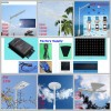 6W To 120W Solar LED Street Lighting System All In ONE
