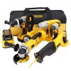 Dewalt 18-Volt Xrp Lithium-Ion Cordless Combo Kit  Manufacturer