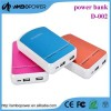 Hot Sale High Quality High Quality 2 USB Power Bank 10400mah