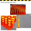 Plastic Warning Road Post Barrier