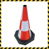 Rubber Reflective Road Traffic Cone Manufacturer
