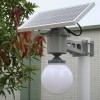 Ball Shape Solar Motion Sensor  LED  Lamp Manufacturer