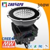 300W LED High Bay Light 7 Years Warranty 30000 Lumens Lamp IP65