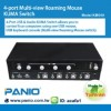 4-Port Multi-View Roaming Mouse Kuma Switch Manufacturer