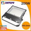 High Lumen 200W  LED  Floodlight 22000 Lumens IP65 Manufacturer