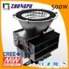 LED High Bay Industrial Factory Light 500W 50000 Lumens Lamp IP65 Cree (Equivalent Replace 1500W Metal Halide Bulb)