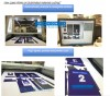 Laser Cutting Dye Sublimation Printed Fabric, Text Manufacturer