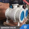 Api6D Trunnion Mounted Flanged 2PC Ball Valve