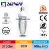 ETL FCC LED Post Top Lamp Bulb 30W Garden Path Light Retrofit Bulb