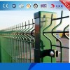 PVC / Powder Coated Garden Triangle Bending Fence Manufacturer