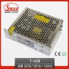 60W 5V/12V/-12V Triple Output Switching Mode Power Supply T-60B