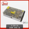 AC/DC DC/DC Switching Power Supply (SMPS) 200W 24V Single Output S-200-24