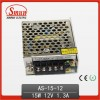 Mini Switching Power Supply 15W 12V AS-15-12
