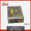 Mini Switching Power Supply 35W 12V Single Output AS-35-12