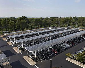 Solaire Generation Celebrates Commissioning of Two Innovative Solar Parking Canopy Projects & Solaire Generation Celebrates Commissioning of Two Innovative ...
