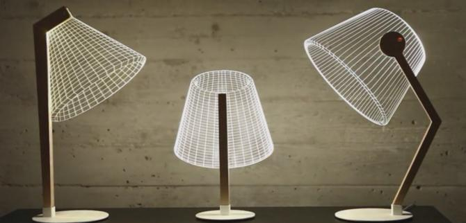 Bulbing lamps are essentially 3d optical illusion lamps they feature a 2d led light source which appears to shine in three dimensions thanks to the use of