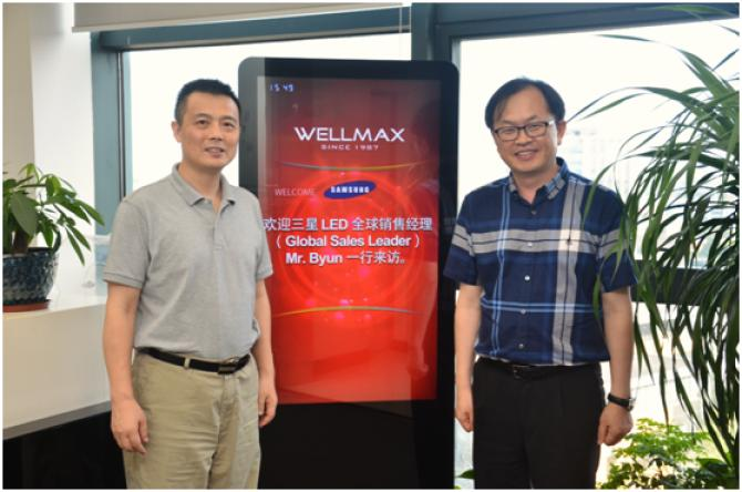 WELLMAX and SAMSUNG's Cooperation Steps up with Focus on LED Bulbs