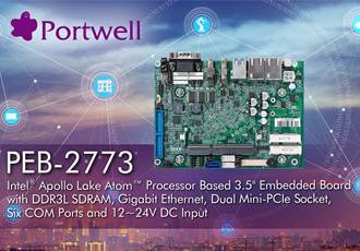 Embedded system offers low power and fan-less design