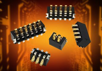 Battery connectors suited to industrial applications