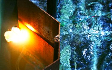 Researchers develop automated laser process for cutting sheet piling underwater