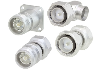 Connectors have maximum operating frequency of 6 GHz