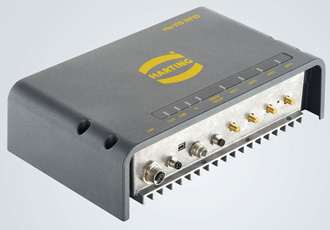 UHF RFID 4 field reader has built-in M12 and M8 connectors