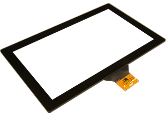 Thick glass touchscreens for rugged and outdoor applications