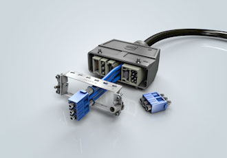 Connector interface enables compressed air delivery