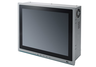 Industrial-grade touch panel PC offers expandability
