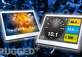 "Compact 4.2"" TFT display designed for HMI applications"
