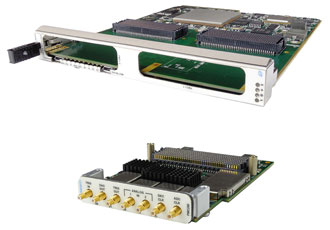 FMC+ carriers and modules support higher I/O bandwidth