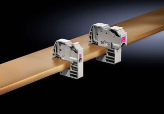 Maintenance-free conductor clamps provide contacts in no time