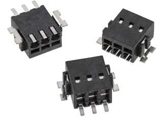 Cable clamps suitable for pure SMT assembly