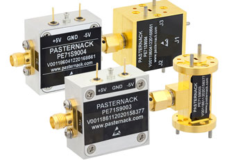 Millimeter-wave PIN diode switches provide low insertion loss